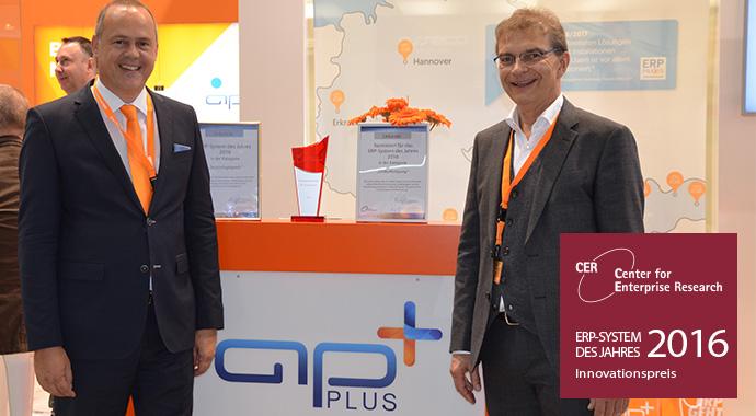 """""""ERP-System des Jahres"""": APplus mit ERP-Innovationspreis ausgezeichnet"""